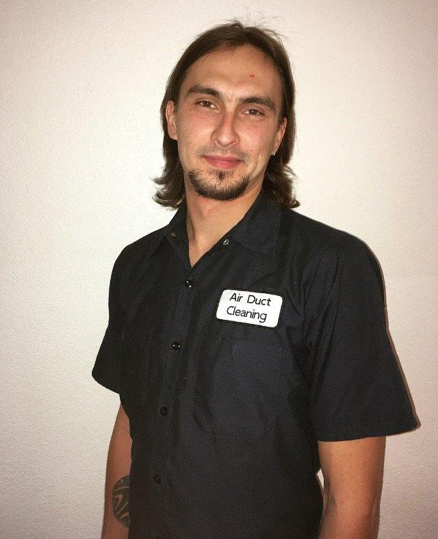 Dante Tiuma - Air Duct Cleaning Technician